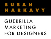 susan harkavy guerilla marketing for designers
